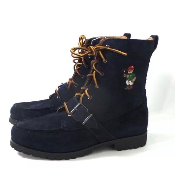 Polo Ralph Lauren Ranger Boots Navy Big